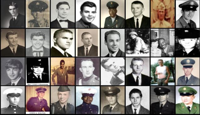 DMVA asking all Pennsylvanians for help in finding three photos for The Wall of Faces