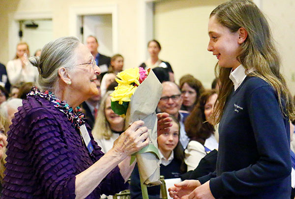 Pope Francis honors Plymouth Meeting woman for her contributions to Catholic education