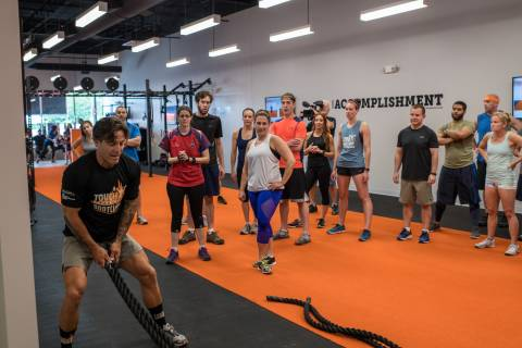 Tough Mudder Bootcamp lunges into Blue Bell with grand opening celebration