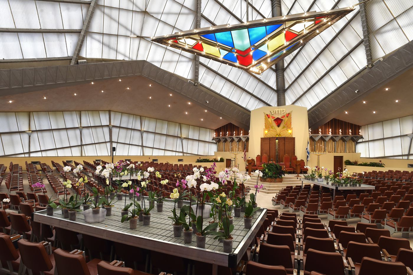 Frank Lloyd Wright's Beth Sholom Synagogue in Elkins Park to host major new art installation