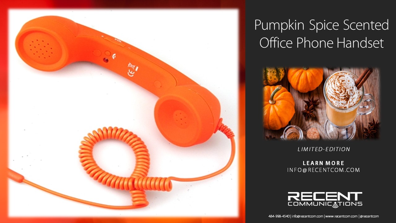 Collegeville-based telecommunications company unveils pumpkin spice-scented office phones