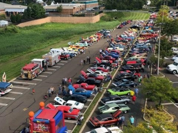 Valley Forge Marketplace car show ready to roll
