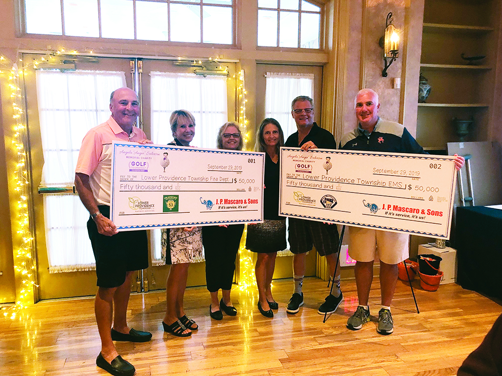 Mascaro-sponsored Memorial Charity Golf Tournament Raises $100,000 for Lower Providence First Responders