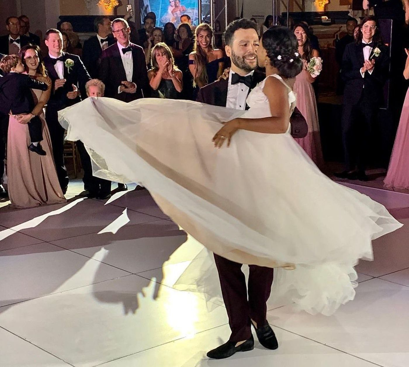 New Year's Celebration in Lower Merion Leads Couple On Path to Dream Wedding