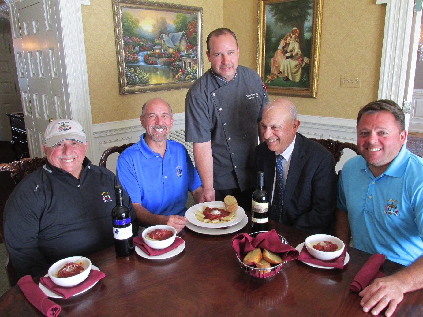 Columbus Cup Celebration at Bellewood CC Adds Traditional Italian Street Feast Dish