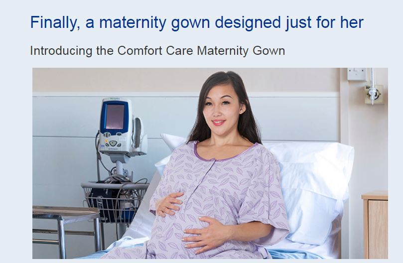 King of Prussia-based company launches ground-breaking maternity gown