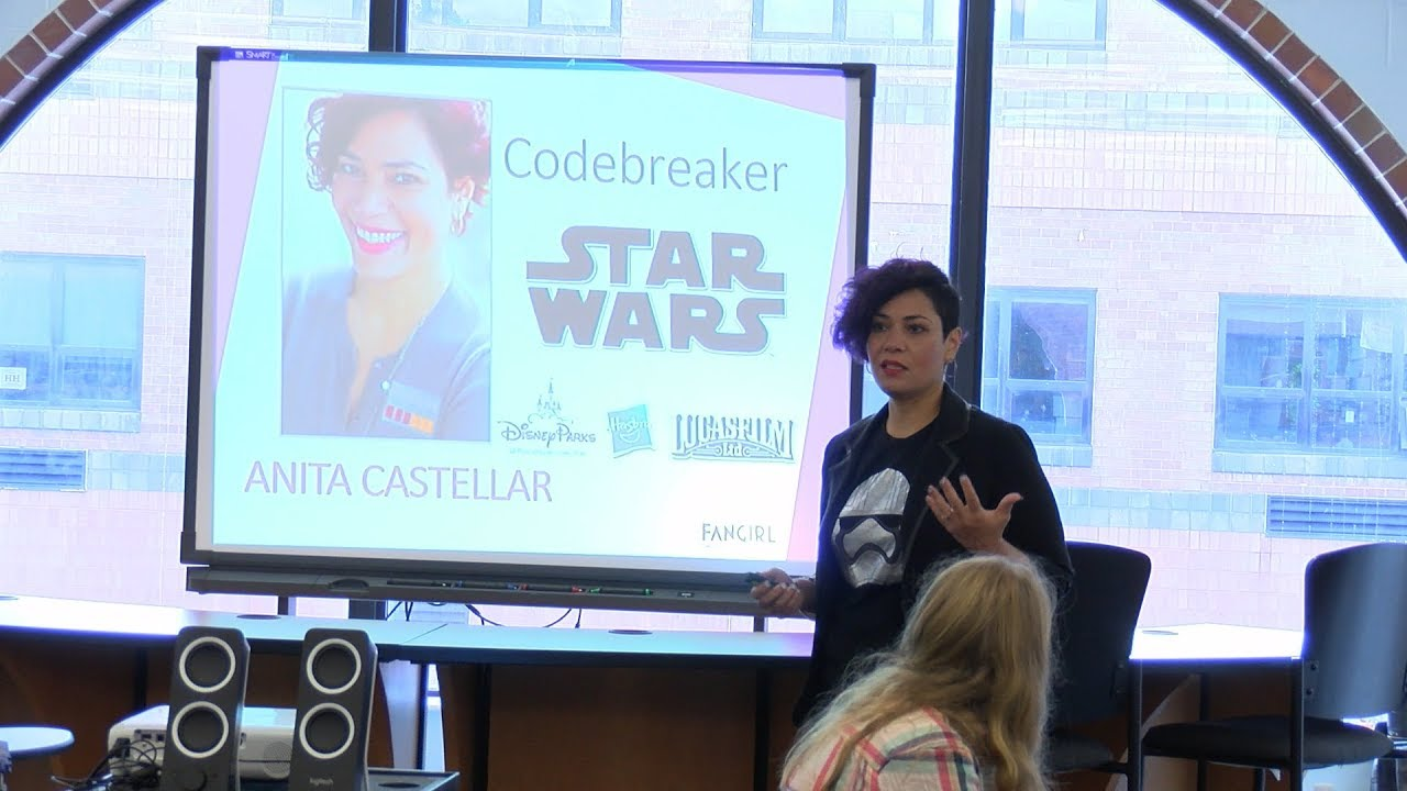 Former Disney Product Developer Speaks at HHEF's Girls' STEAM Kick-Off