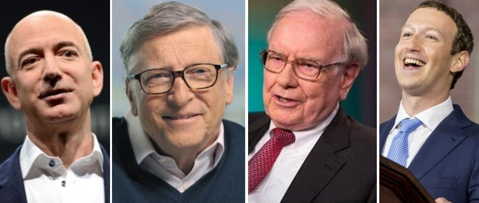 Eight of 10 Richest People in the World Are American