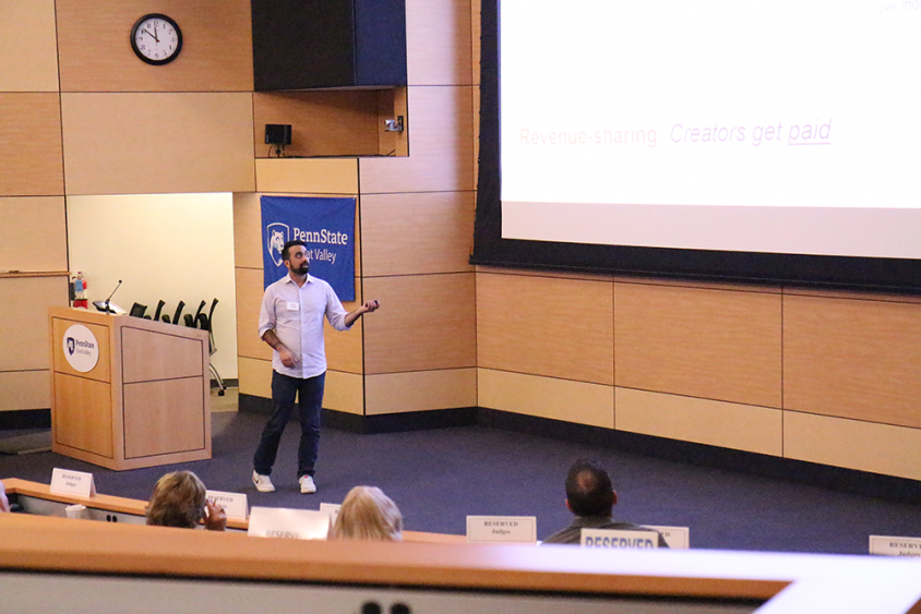 Annual Lion Cage Pitch Competition at Penn State Great Valley Provides Pathway for Entrepreneurs