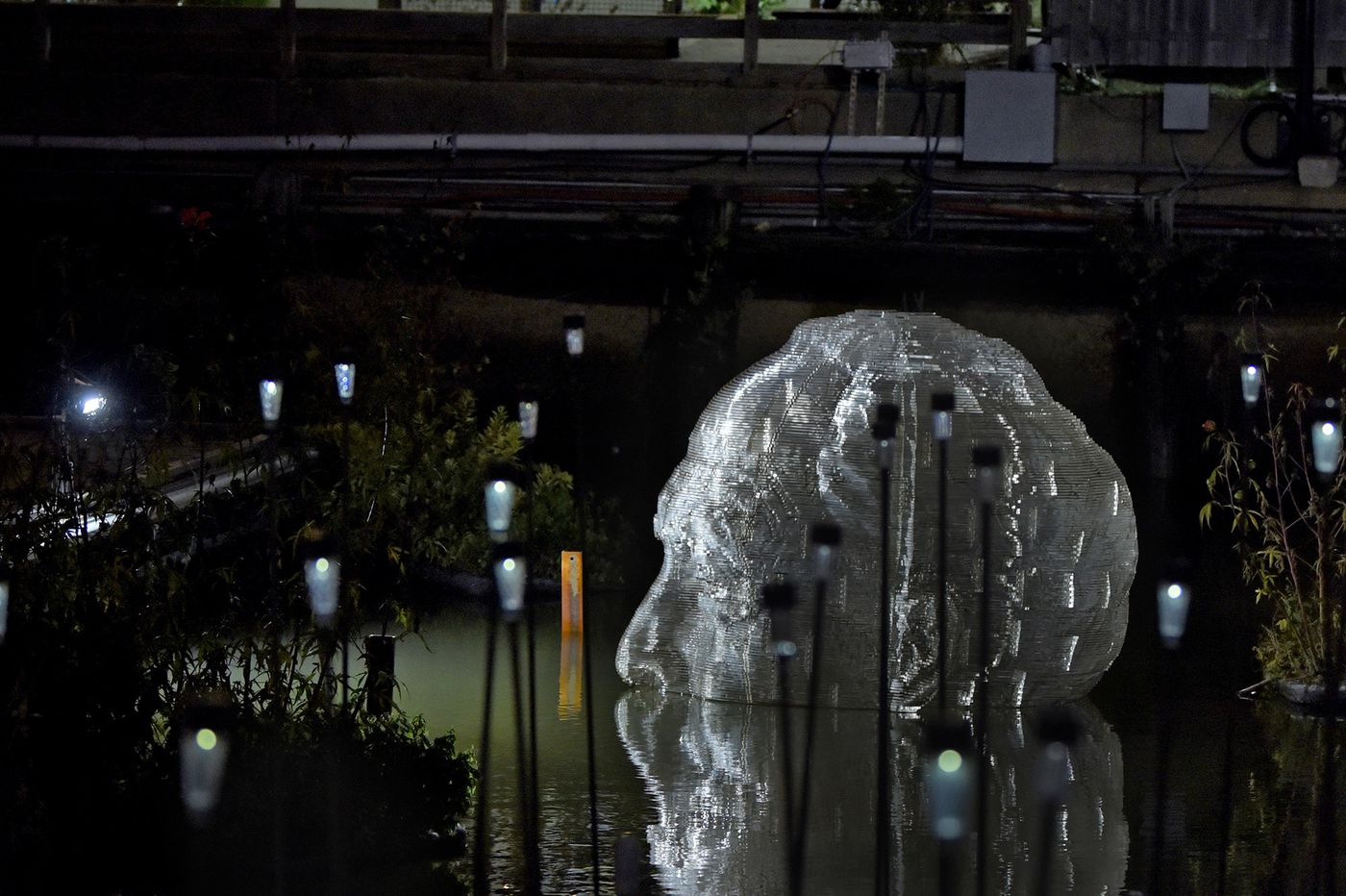 Ardmore Jeweler Immortalized In Giant Translucent Sculpture By Artist's Son