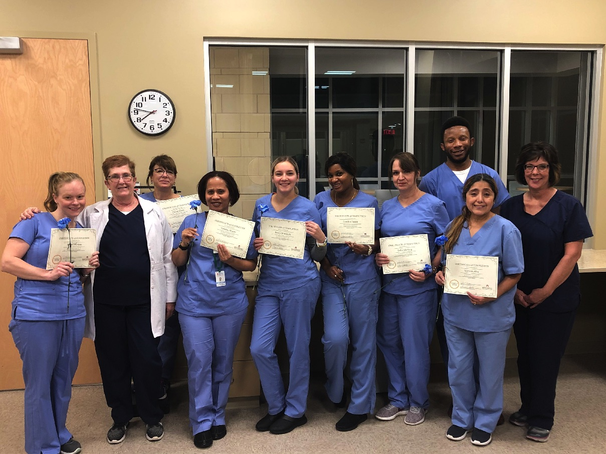 MCCC Celebrates Latest Class of Nurse Aide Training Program Graduates
