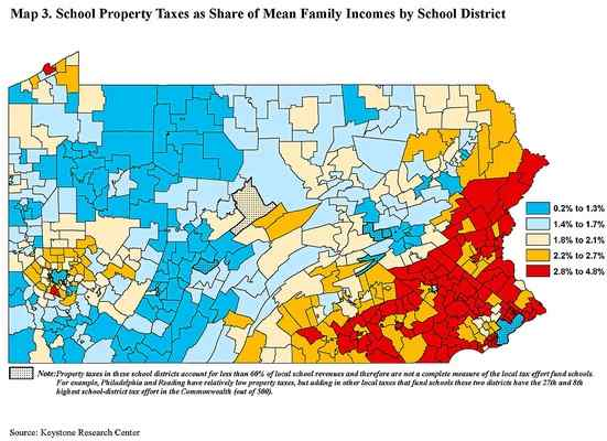 3 School Districts Claim Tax Burden's Too Heavy for Delaware County Property Owners