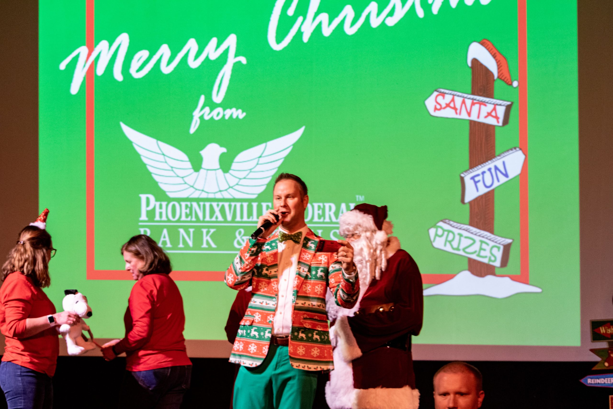 Phoenixville Federal Bank & Trust Ushers in Holiday Season with Annual Children's Christmas Party