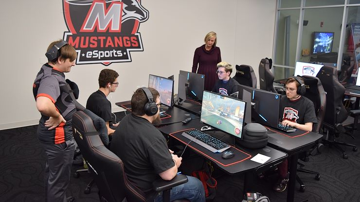 MCCC Gearing Up To Launch Its New Mustangs eSports Program