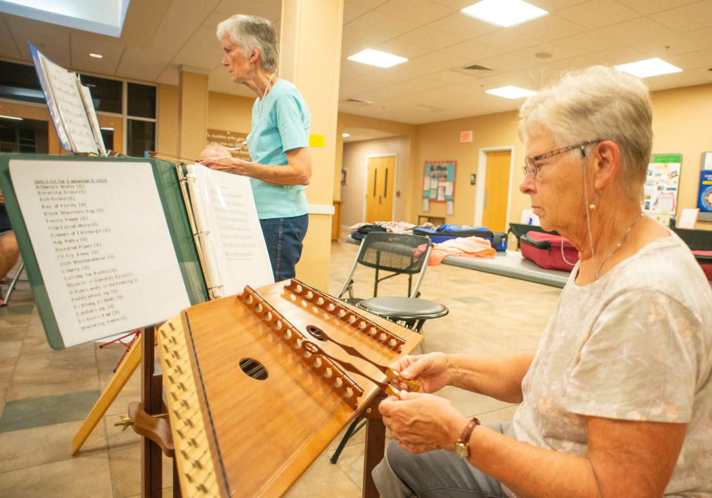 Souderton Club Offers Chance to Learn to Play an Unusual New Instrument
