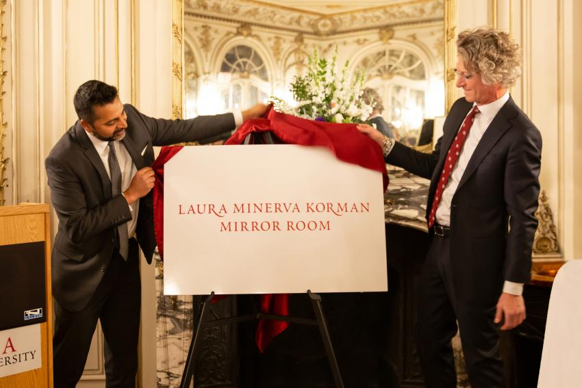 Arcadia University Mirror Room Now Bears Name of One of Its Most Dedicated Alumnae, Minerva Korman