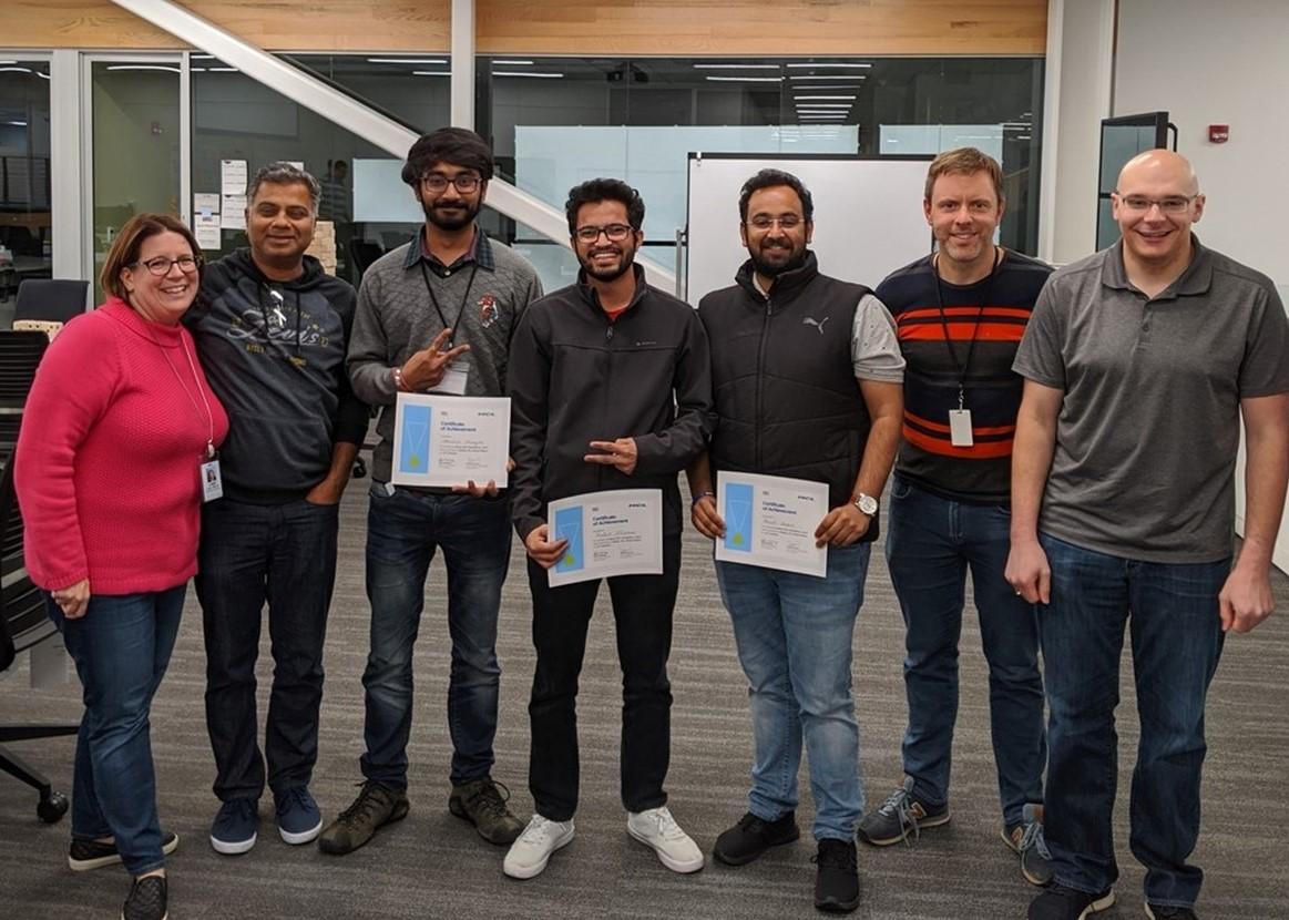 PSGV Students Win Hackathon, Defeat Competitors with Decades of Data Analytics Experience