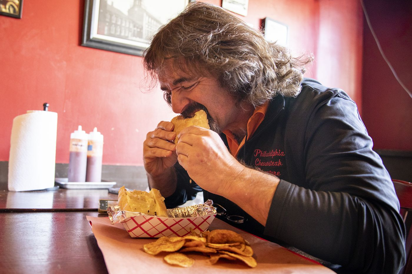 This Cheesesteak Critic Has 500 Cheesesteaks Under His Belt