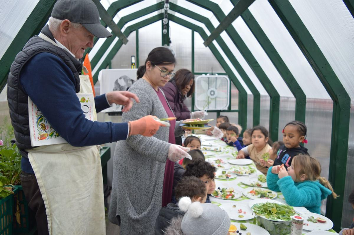 Local Man Takes Mobile Greenhouse on Road, Teaches Area Children about Healthy Eating
