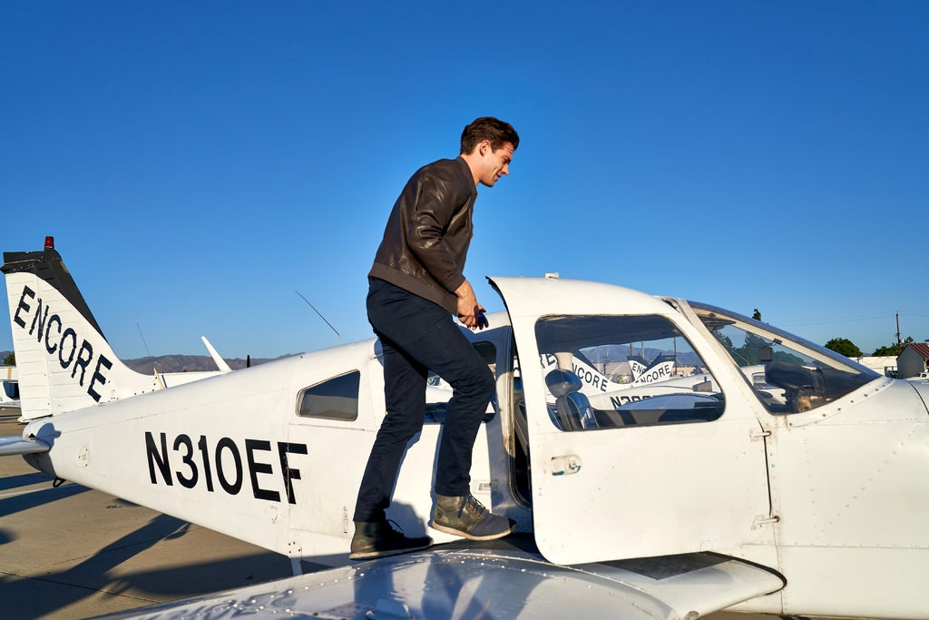 Shipley Grad and 'The Politician' Breakout Star David Corenswet Takes To Skies