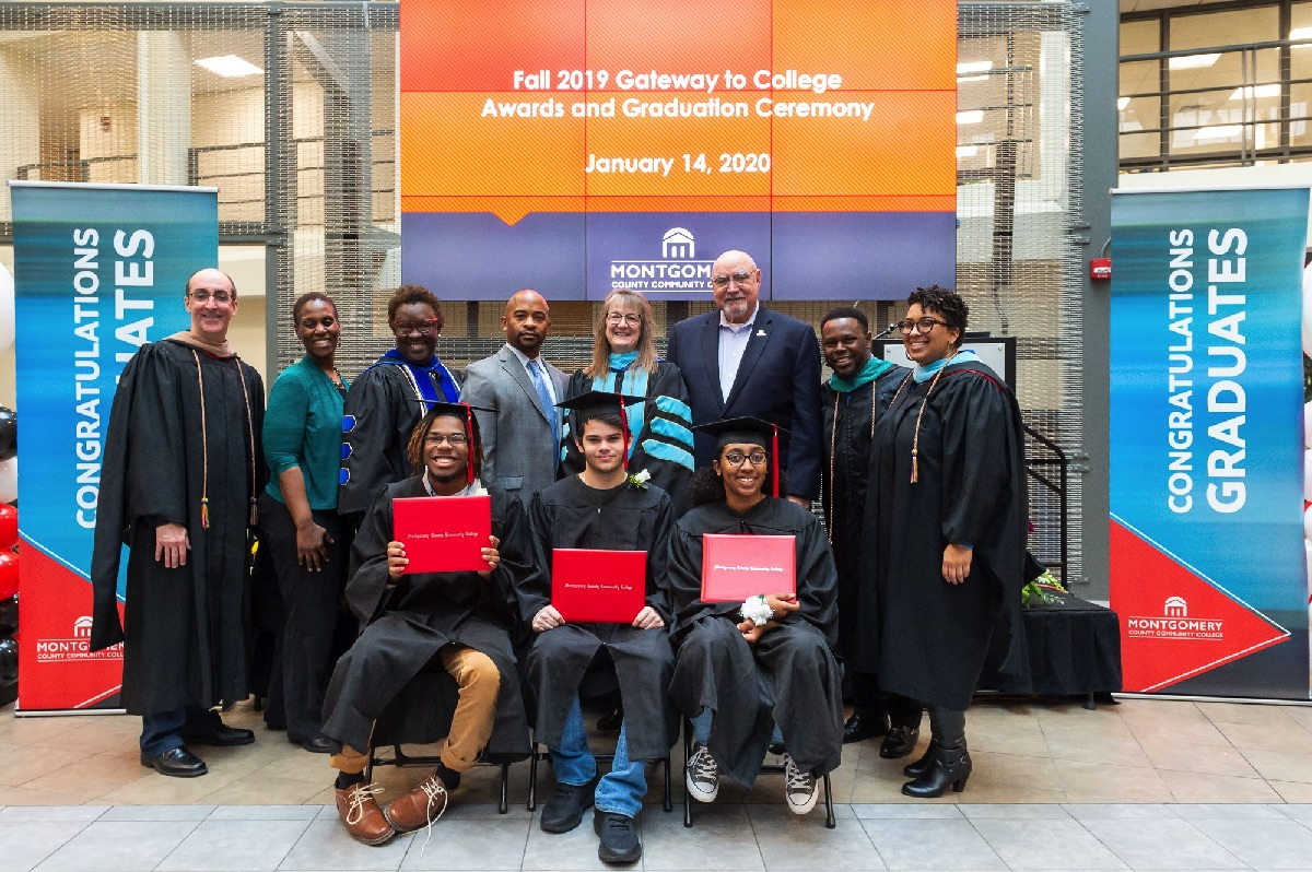Montgomery County Community College Holds Ceremony to Celebrate Accomplishments of Gateway to College Program Students