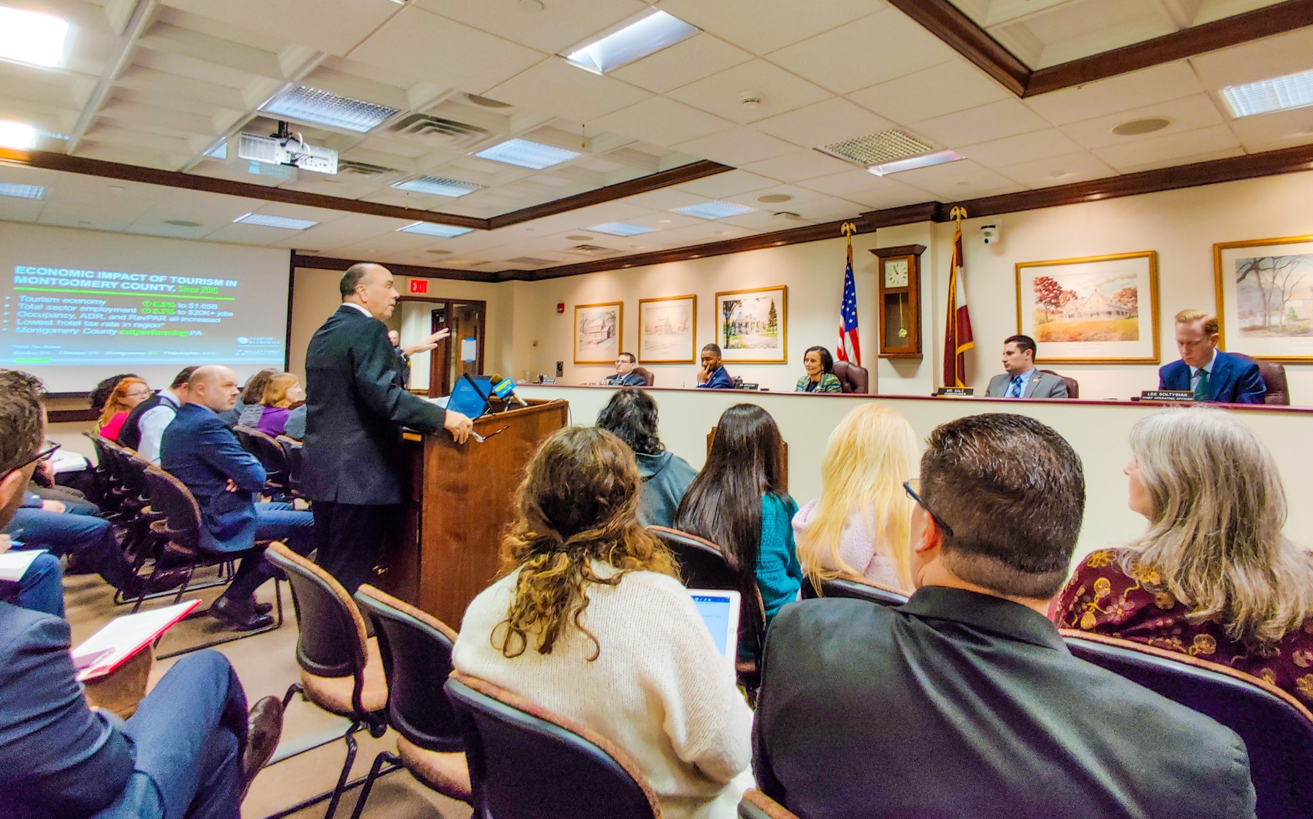 VFTCB Provides Update on Montco's Tourism Economy to County Commissioners