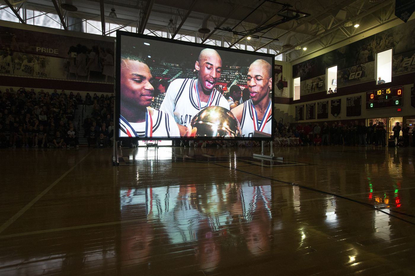 Lower Merion High School Honors Kobe Bryant with Video Tribute at Game