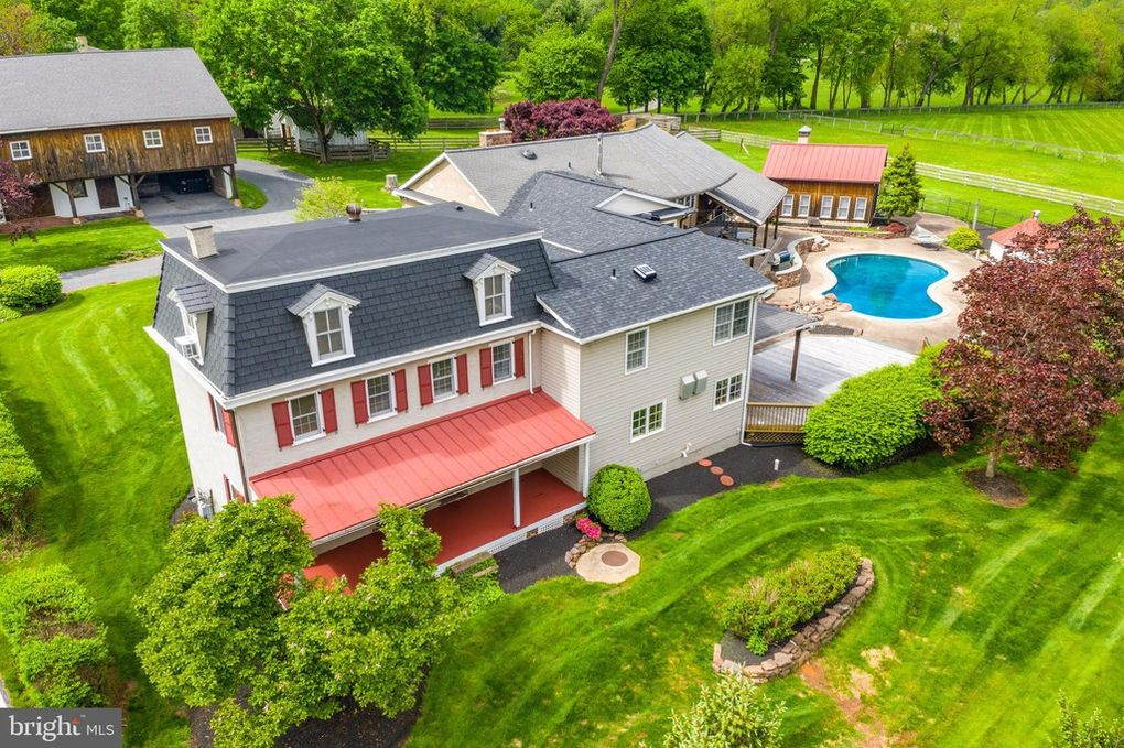 Malvern Bank House of the Week: Original Farmhouse with Extensive Addition in Collegeville