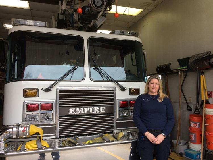 Pottstown and Goodwill Firehouse Gets First Female Career Firefighter