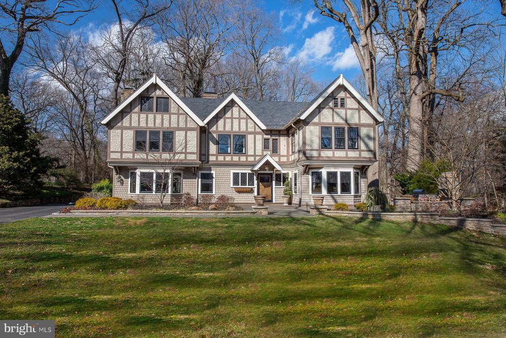 Malvern Bank House of the Week: Handsome Early-20th-Century Tudor in Villanova