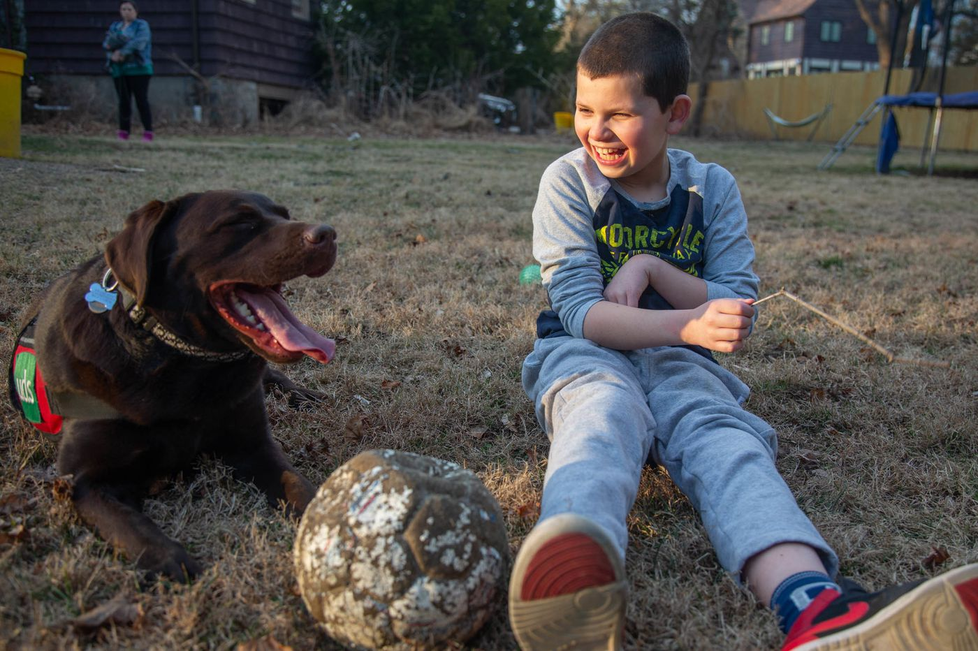 Service Dog Helps Bala Cynwyd Boy with Autism Connect with World