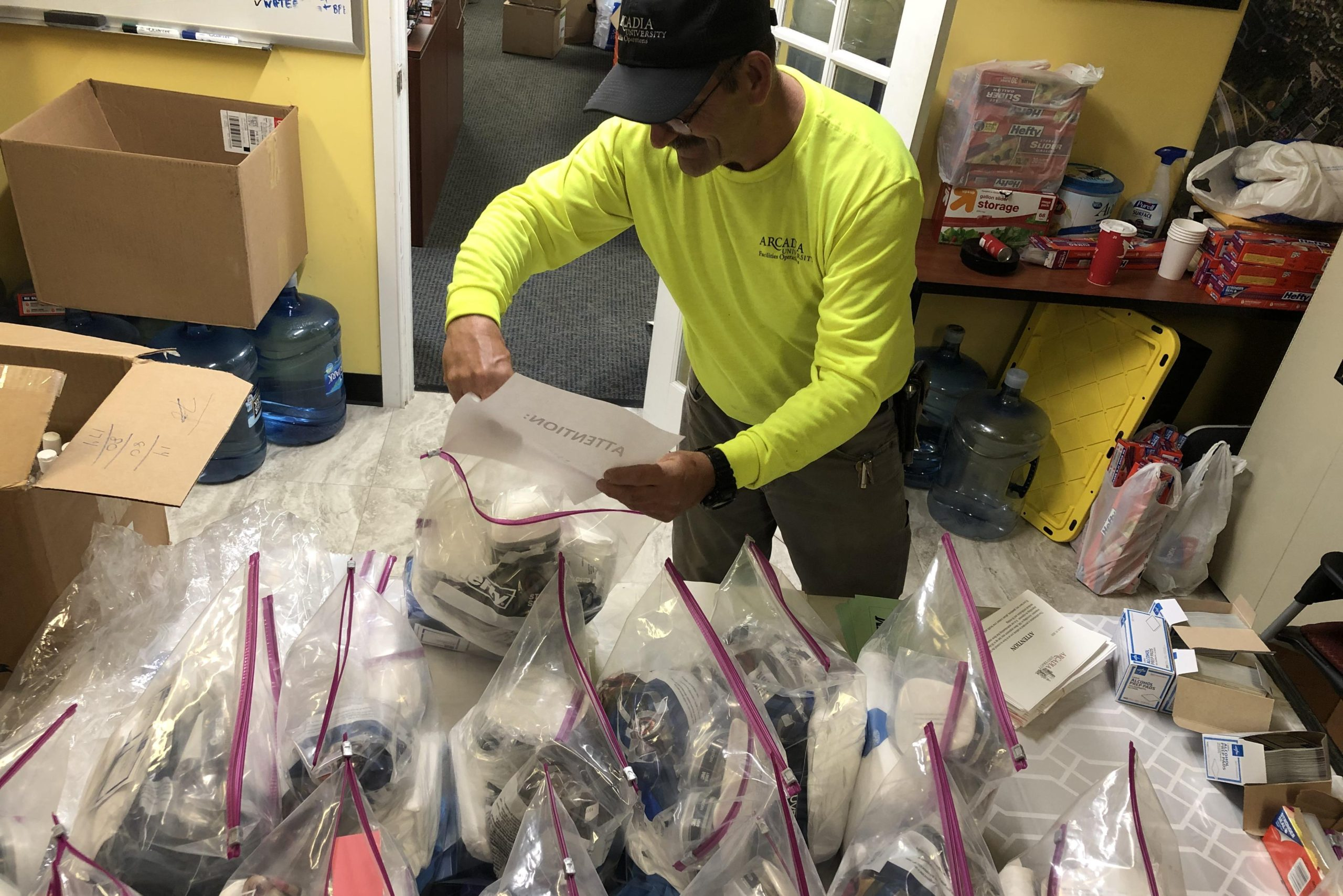 Arcadia University Donates Surplus Emergency Supplies to Local EMS Personnel