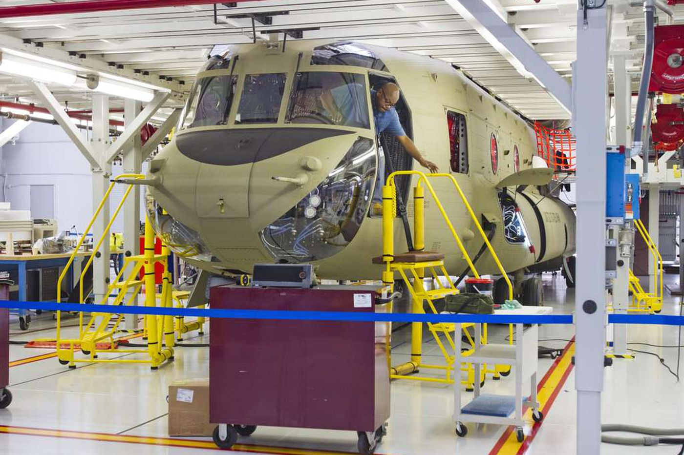 Boeing's Ridley Park Helicopter Facility Stays Open, Seattle Jet Plants Shut Down