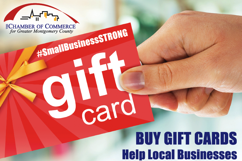 Chamber Introduces Gift Card Program to Bring Much Needed Cash Flow to Local Small Businesses and Restaurants