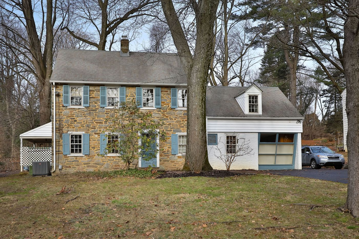 Malvern Bank House of the Week: Charming Stone Colonial in Elkins Park
