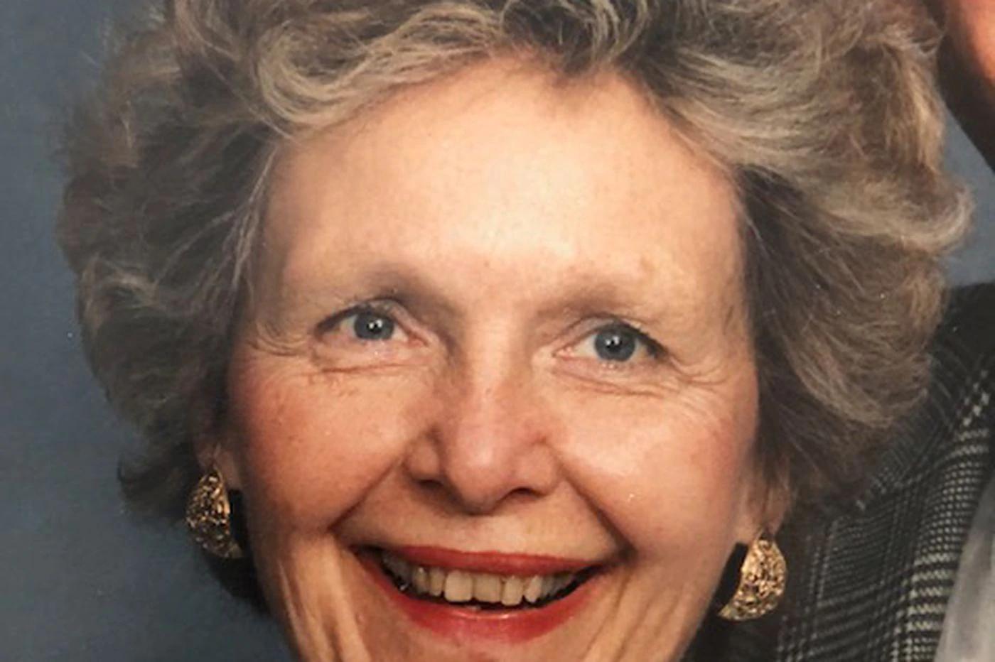 Joan S. Randolph, 84, Leader in Nursing Field, has Died at Rydal Park in Jenkintown
