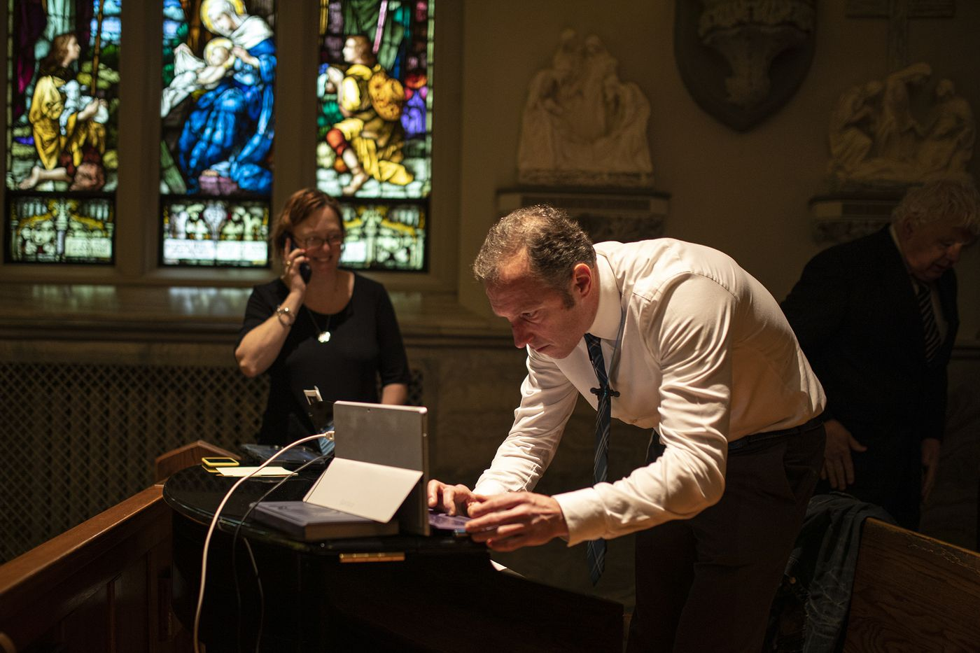 As Coronavirus Outbreak Continues, St. Margaret Church in Narberth Turns to Live-Streaming Funerals
