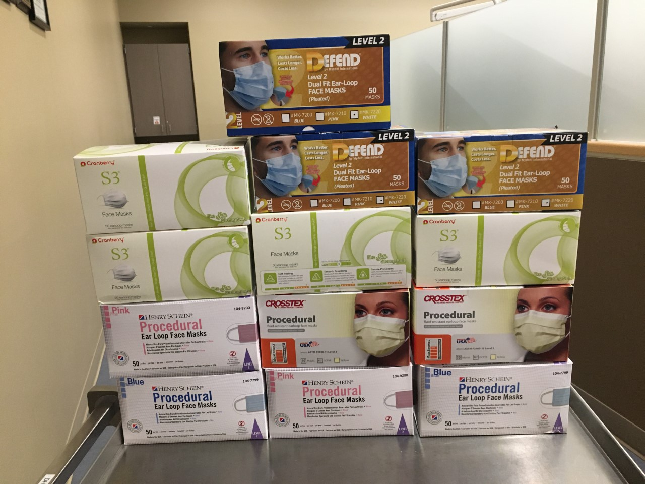 Montgomery County Community College Helps Local Community by Donating Health Care Supplies, Food