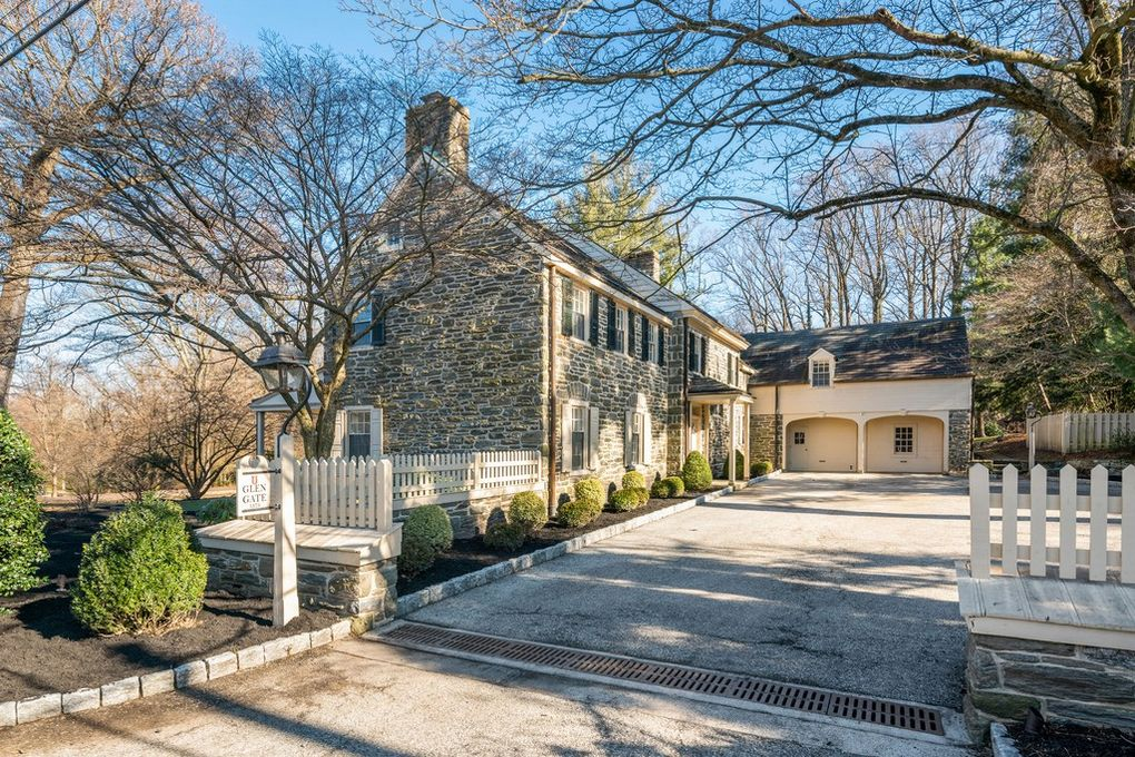 Malvern Bank House of the Week: Stunning Colonial in Picturesque Setting in Abington