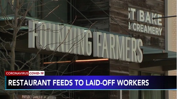 King of Prussia-Based Founding Farmers Finds Way to Support Laid Off Employees By Providing Them with Free Food