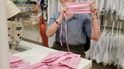 Conshohocken-Based David's Bridal Producing Non-Surgical Masks for Healthcare Workers