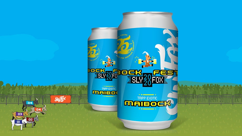 Forbes: Instead of Racing Live Goats, This Year Sly Fox Brewing Organized Virtual Bock Fest & Goat Races