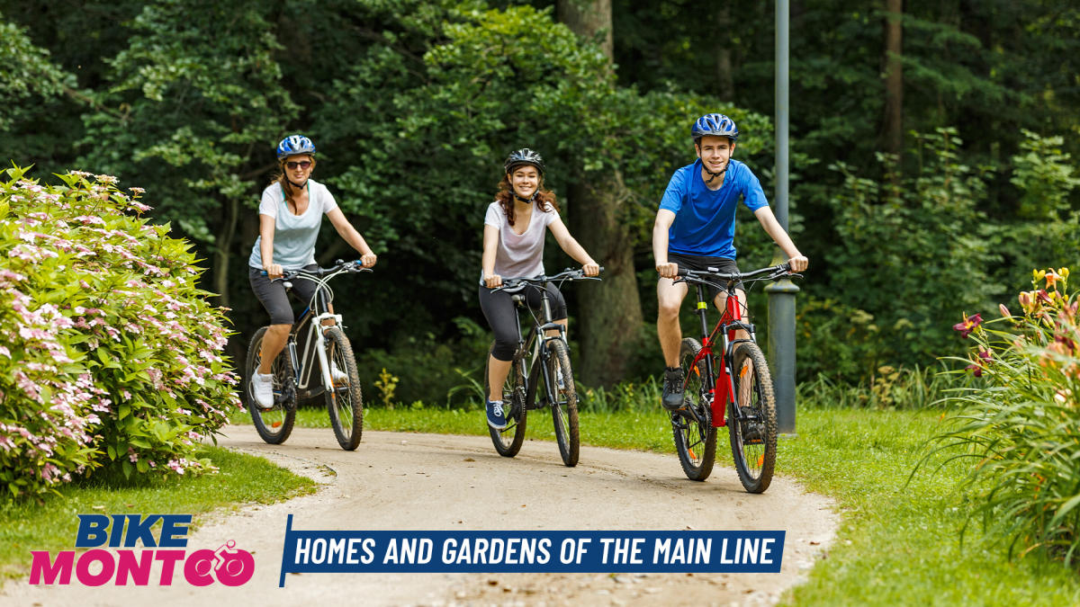 First in Series of Montgomery County Bicycle Tours to Focus on Homes, Gardens of Main Line