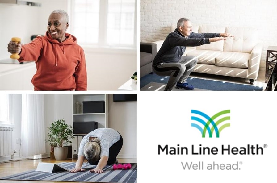 Main Line Health: Easy Exercises for Seniors to Do at Home