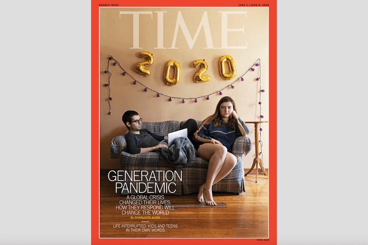 Quarantined Fort Washington Drexel Senior Snaps Time Magazine Cover