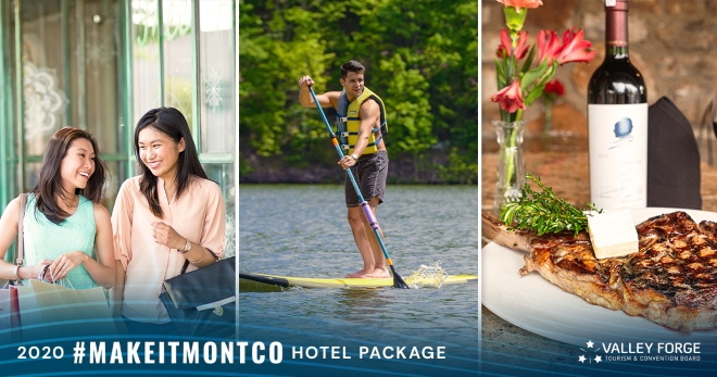 Tourism Board Invites Locals to Plan Montco Weekend Getaway with #MakeItMontco Hotel Package
