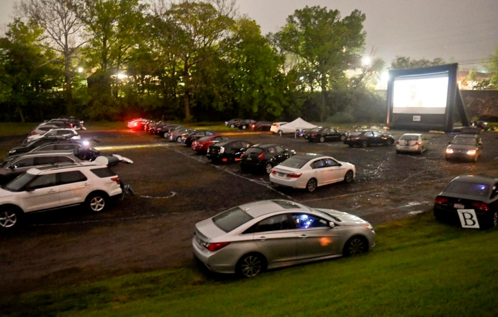 SunnyBrook Ballroom in Lower Pottsgrove Ready for Country's First 'Social Distancing Drive-in Wedding'