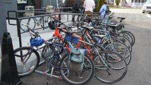 Bikes at the Bridgeport Conshohocken Brew Pub - MCPC - MONTCO.Today