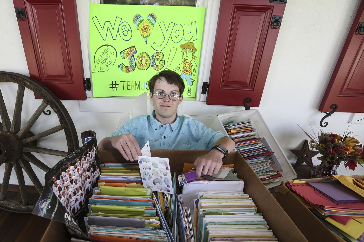 Skippack Man With Down Syndrome Awaiting Double-Organ Transplant Receives Thousands of Cards from Strangers