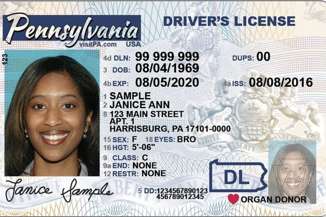 Nonbinary Gender Designation Added to Pennsylvania Driver's Licenses